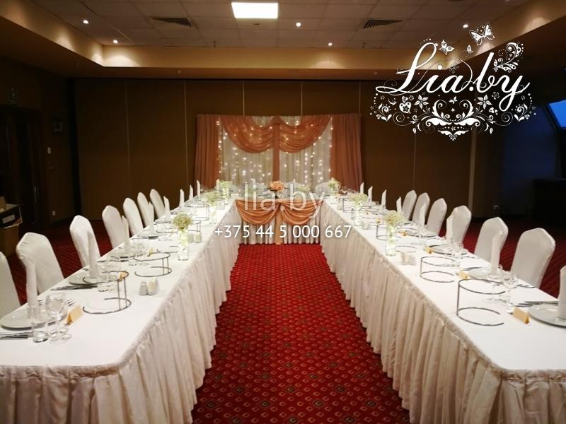 39348011630a ... оформление под ключ · Банкетный зал на свадьбу - украшение зала в  Crowne Plaza ...