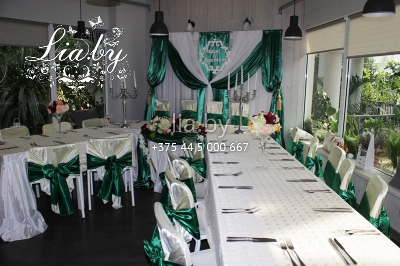 a600628ecc19 ... Украшение зала на свадьбу в кафе Бронгал · Зеленая свадьба в кафе  Оранжерея в Ботаническом Саду ...