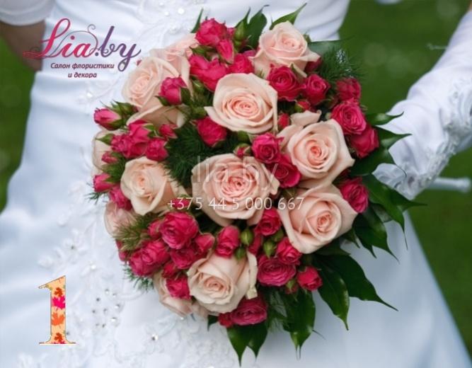Темно бордовый цвет букета невесты, флористика букеты оформление