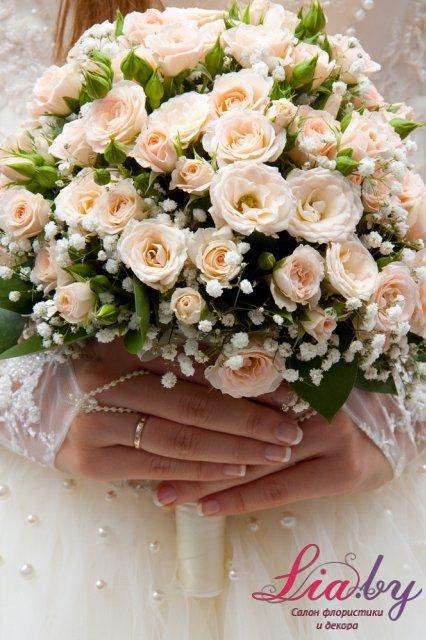 Свадебный букет шар купить — pic 2