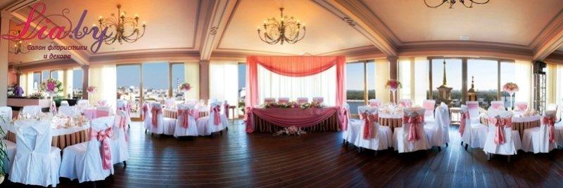 Комплексное тематическое и классическое оформление свадебного зала