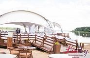 Оформление свадебного банкета под шатром, заказать в Минске
