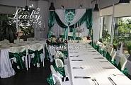 Зеленая свадьба в кафе Оранжерея в Ботаническом Саду