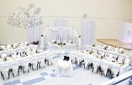 Украшение свадьбы в конференц-зале Цмокi Минск